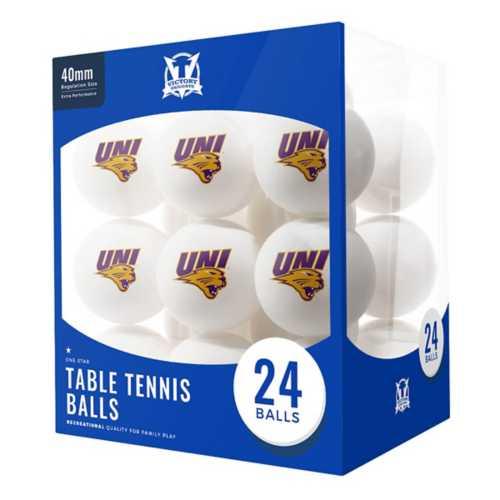 Escalade Sports Northern Iowa Pantehrs 24 Count Ping Pong Balls
