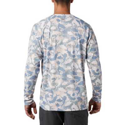 Men's Columbia PFG Terminal Deflector Printed Long Sleeve Shirt