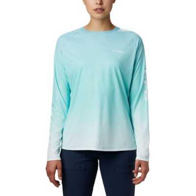 Columbia Womens Standard PFG Tidal Deflector Long Sleeve Shirt