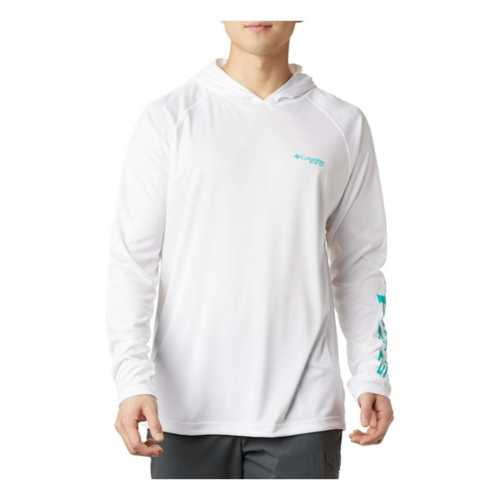 White/Bright Aqua