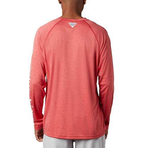 Men's Columbia PFG Terminal Tackle Heather Long Sleeve Shirt