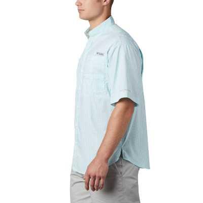 Men's Columbia PFG Super Tamiami Gingham Button Up Shirt