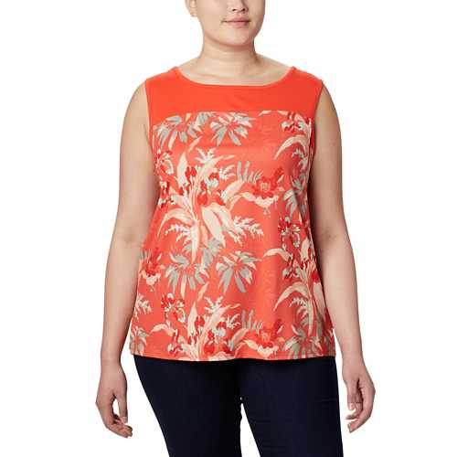 Bright Poppy/Magnolia Print