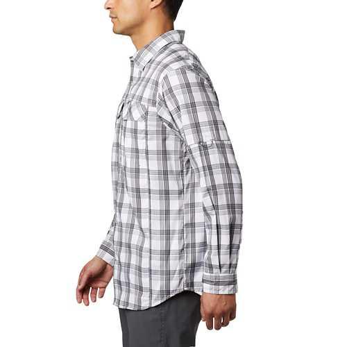 Men's Columbia Silver Ridge Lite Plaid Long Sleeve Shirt