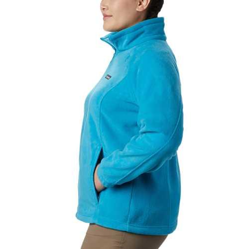 Women's Columbia Plus Size Benton Springs Full Zip Jacket