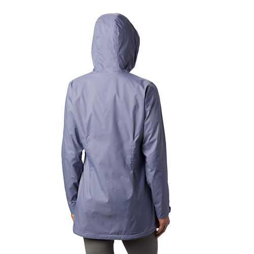 Women's Columbia Switchback Lined Long Rain Jacket