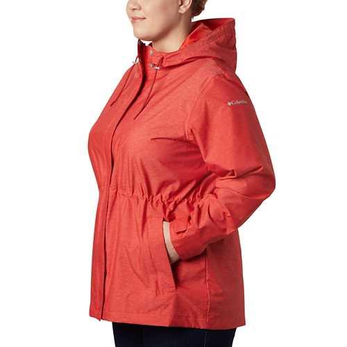 Women's Columbia Plus Size Norwalk Mountain Rain Jacket
