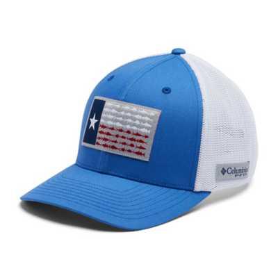 Vivid Blue/White/Texas Fish Flag