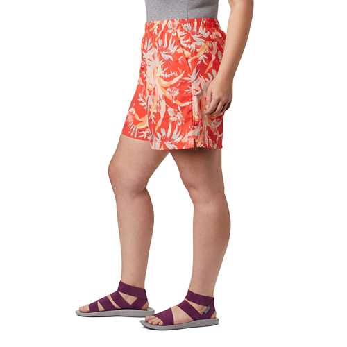 Women's Columbia Plus Size Sandy River II Printed Shorts