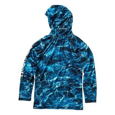 Boys' Carhartt Elements Aqua BASS Force Long Sleeve Hoodie