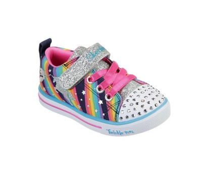 Toddler Girls' Skechers Twinkle Toes Magical Rainbows Shoes