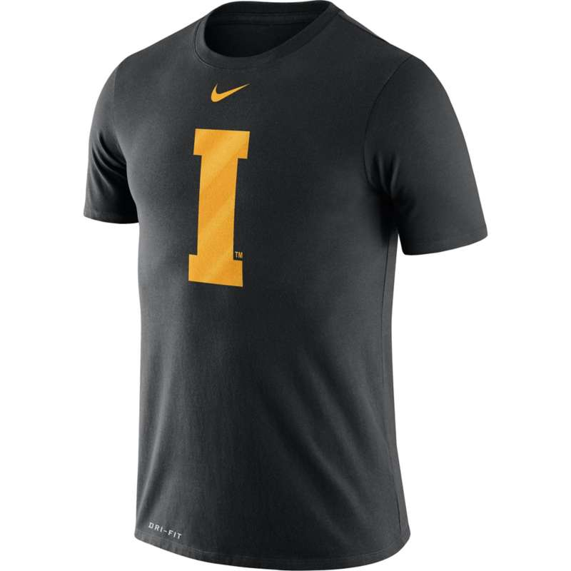 Nike Iowa Hawkeyes Dri-FIT Legend Baseball Logo T-Shirt