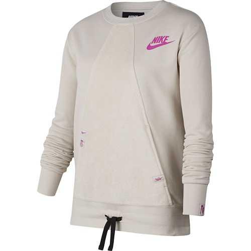 Girls' Nike Sportswear Heritage Pocket Crew