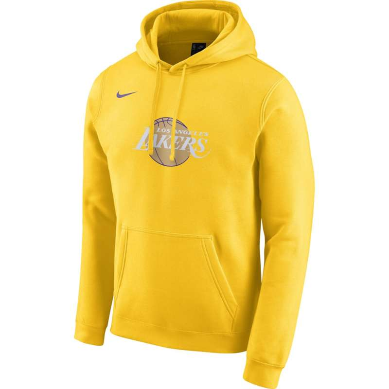 Nike Los Angeles Lakers City Edition Logo Fleece Hoodie
