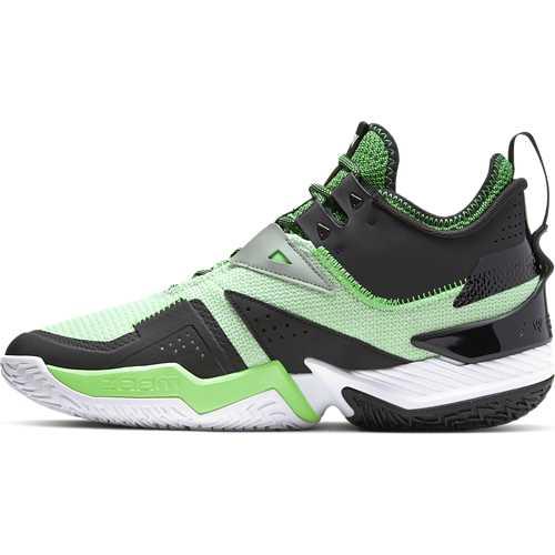 White/White-Black-Rage Green