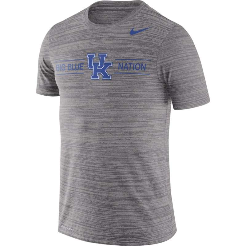 Nike Kentucky Wildcats Dri-FIT Velocity Legend GFX Big Blue Nation T-Shirt