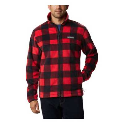 Mountain Red Check Print