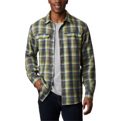 Bright Chartreuse Ombre Plaid