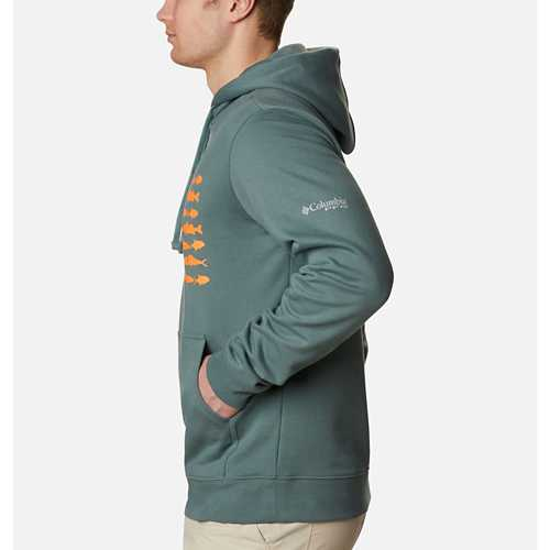Men's Columbia PFG Fish Flag Hoodie
