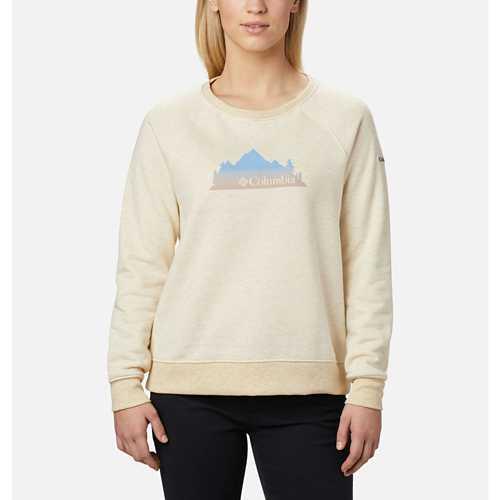 Women's Columbia Hart Mountain™ Graphic Crewneck Sweatshirt