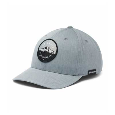 Charcoal Heather/Mt Hood Circle Patch