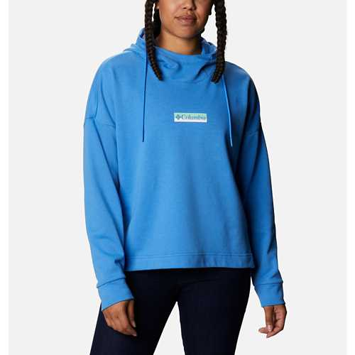 Women's Columbia Cowl Logo French Terry Hoodie