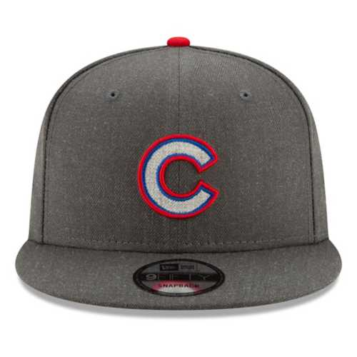 New Era Chicago Cubs Heathered 9Fifty Snapback Hat