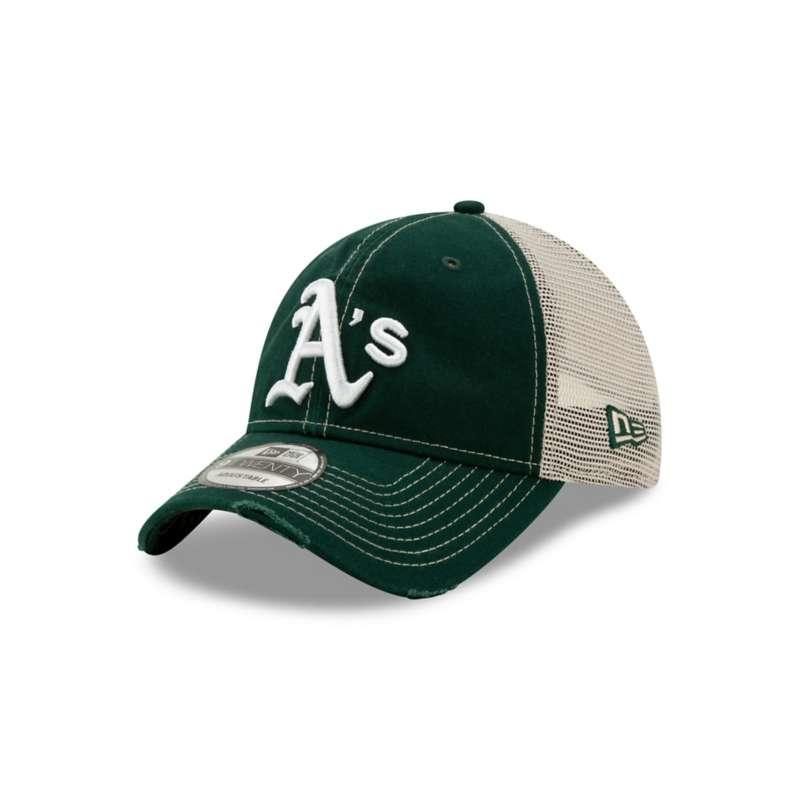 New Era Oakland Athletics Worn 9Twenty Snapback Hat