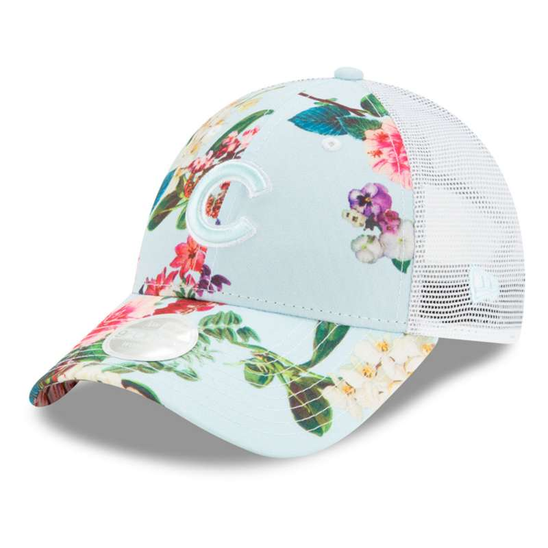 New Era Women's Chicago Cubs Floral 9Forty Core Adjustable Hat
