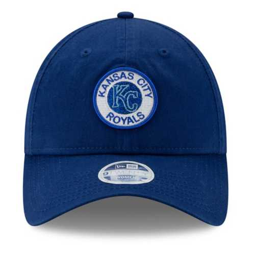 New Era Women's Kansas City Royals Shiny Patch 9Twenty Relaxed Fit Adjustable Hat