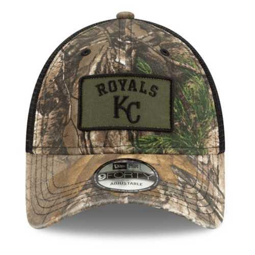 New Era Kansas City Royals 940 Camo Worn Hat