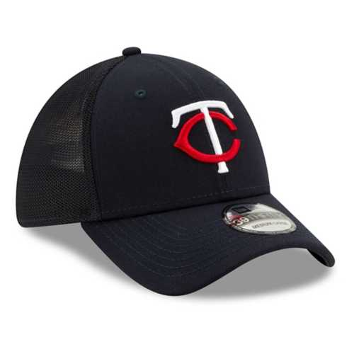 New Era Minnesota Twins Mesh 39Thirty Stretch Fit Hat