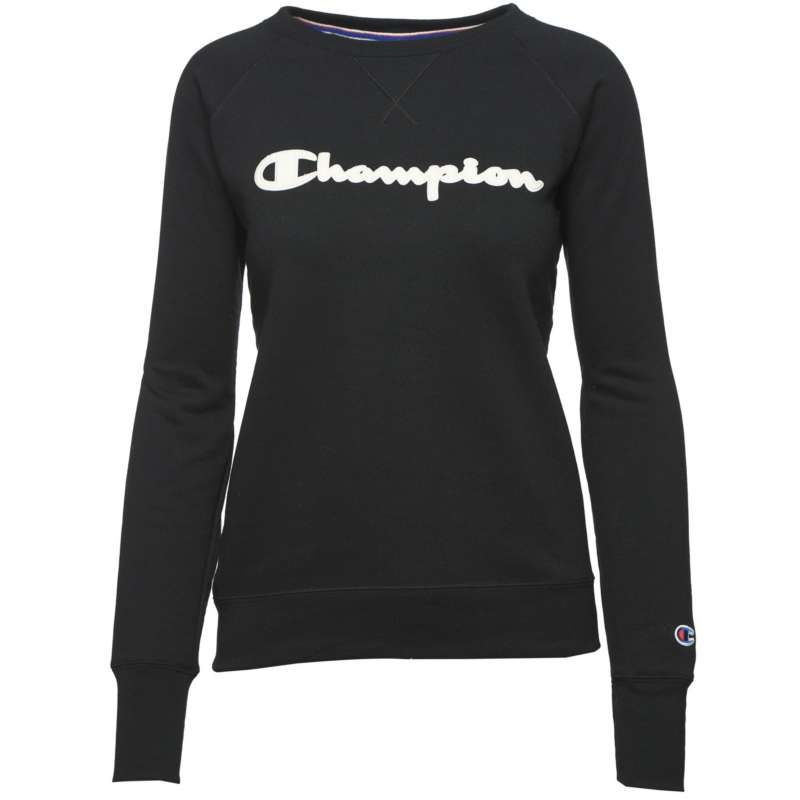 Women's Champion Powerblend Applique Pullover Crewneck Sweatshirt