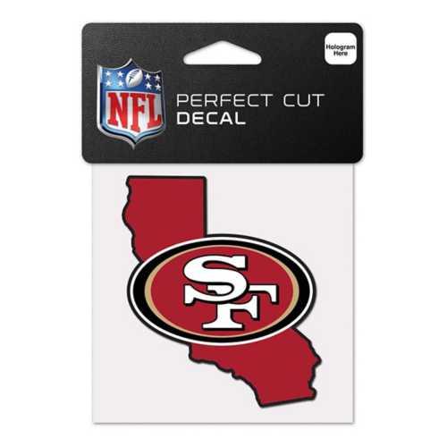 Wincraft San Francisco 49ers 4X4 Perfect Cut Decal