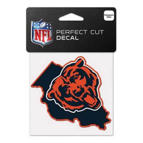 Wincraft Chicago Bears 4X4 Perfect Cut Decal