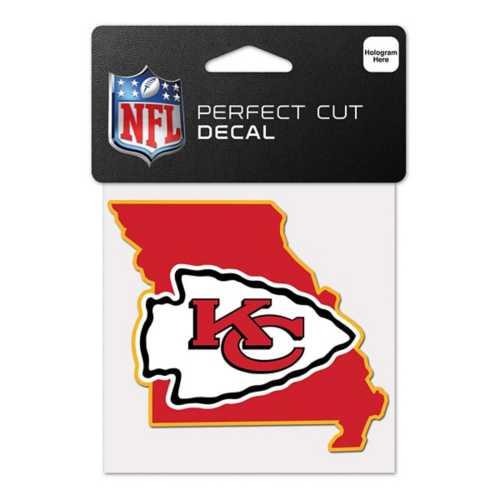 Wincraft Kansas City Chiefs 4X4 Perfect Cut Decal