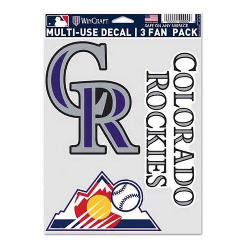 Wincraft Colorado Rockies Fan Decal