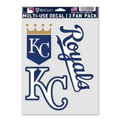 Wincraft Kansas City Royals Fan Decal