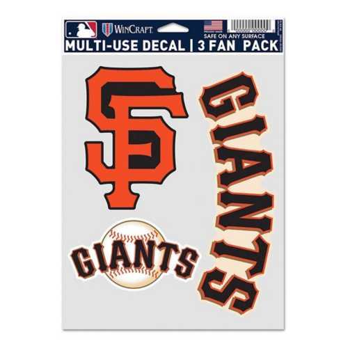 Wincraft San Francisco Giants Fan Decal