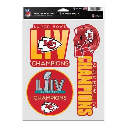 Wincraft Kansas City Chiefs Super Bowl Champions Fan Decal