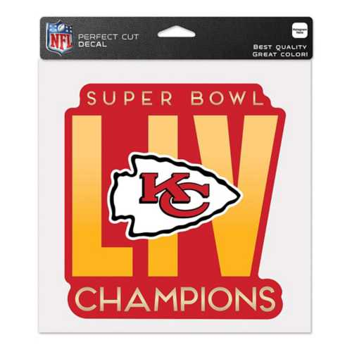 Wincraft Kansas City Chiefs Super Bowl Champions 8X8 Perfect Cut Decal