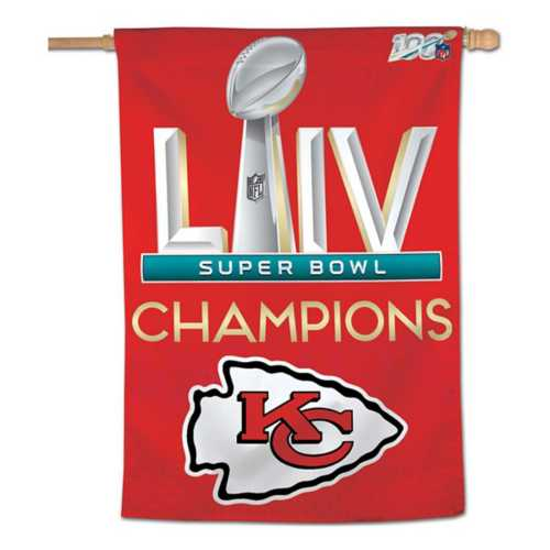 Wincraft Kansas City Chiefs Super Bowl Champions Vertical Flag