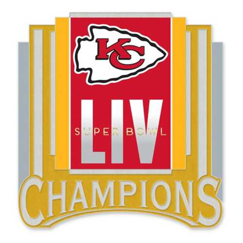 Wincraft Kansas City Chiefs Super Bowl 54 Champions Collector Pin