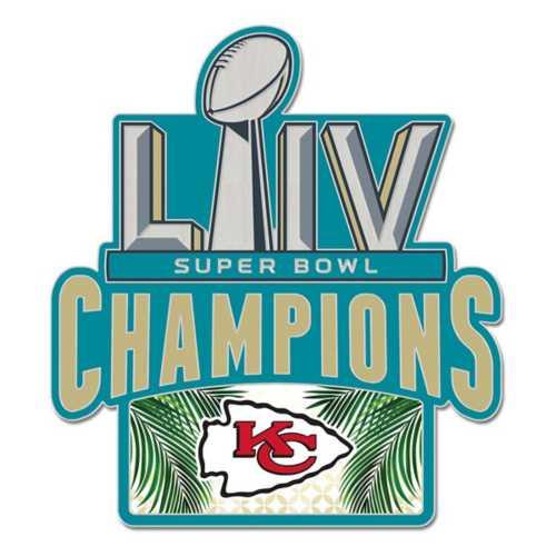 Wincraft Kansas City Chiefs Super Bowl Logo Champions Collector Pin