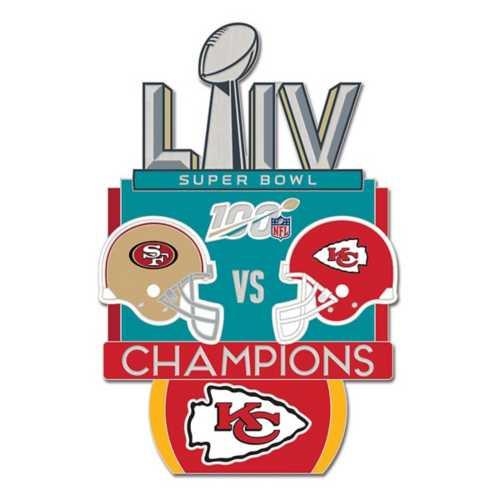 Wincraft Kansas City Chiefs Super Bowl 54 Collector Pin