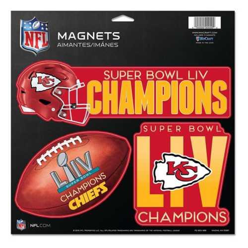 Wincraft Kansas City Chiefs Super Bowl Champions Magnet