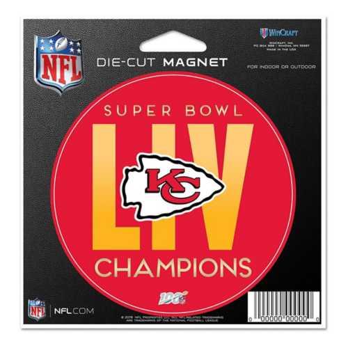 Wincraft Kansas City Chiefs Super Bowl Champions Round Magnet