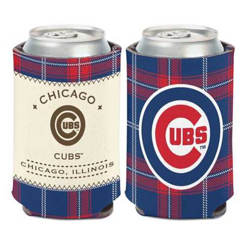 Wincraft Chicago Cubs Plaid Patch Can Cooler