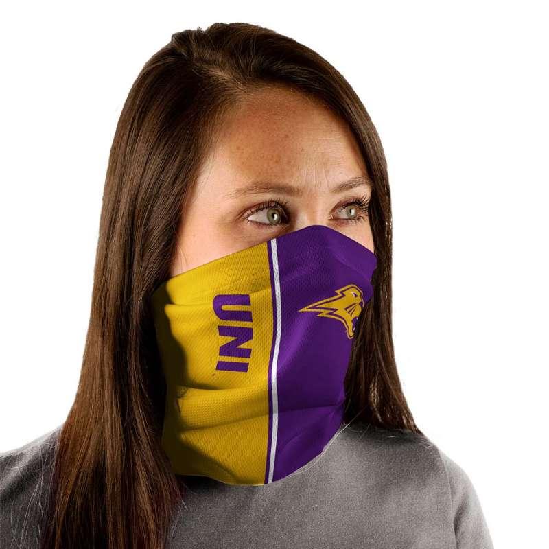 Wincraft Northern Iowa Panthers Split Face Mask Neck Gaiter