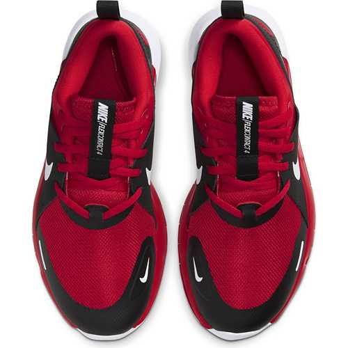 Boys' Nike Flex Contact 4 Breathable Mesh Running Shoes